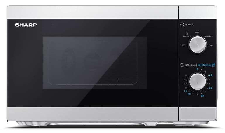 """Sharp Mikrowelle """"YC-MS01ES"""", 1270 Watt, mit Grillfunktion für 53,32€ (statt 62€)"""