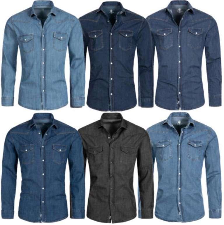 Rock Creek Herren Denim Jeans-Hemden für je 27,90€ inkl. Versand  (statt 35€)
