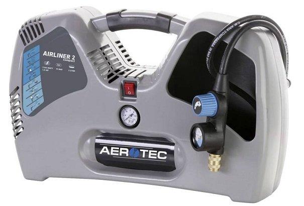 Aerotec Druckluft-Kompressor 2 l Airliner 2 für 64,44€ (Statt 99€)