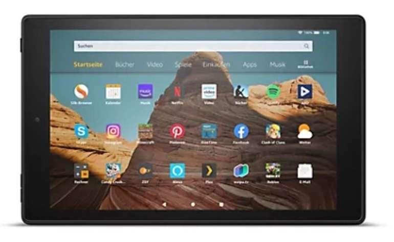 Das neue Amazon Fire HD 10 - 25,7cm Tablet PC (Octa Core, 32GB) für 126,04€ inkl. Versand (statt 146€)