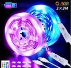 2x 3m Shineline USB LED Streifen mit Fernbedienung (16 Farben, 4 Modi, dimmbar) ab 6,49€