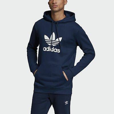 Adidas Originals Trefoil Herren Hoodie in blau für 33,77€ inkl. VSK (statt 46€)