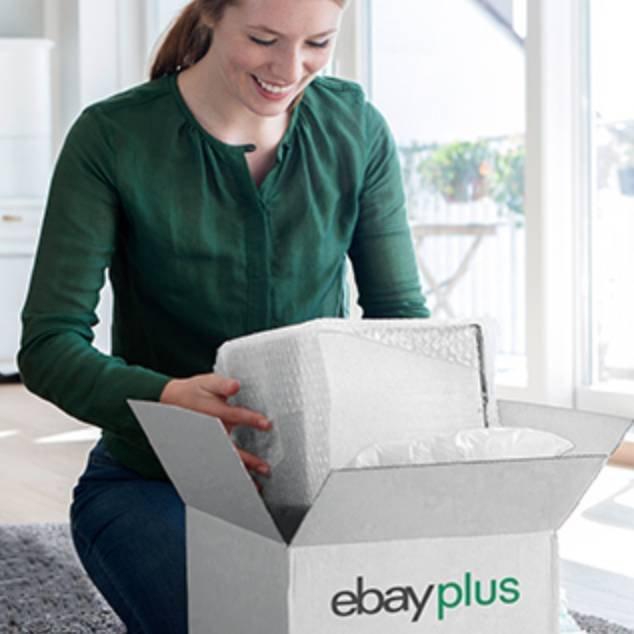 eBay Plus-Mitglied werden (19,90€/Jahr) und 15€ Gutschein + 1000 Punkte sichern!