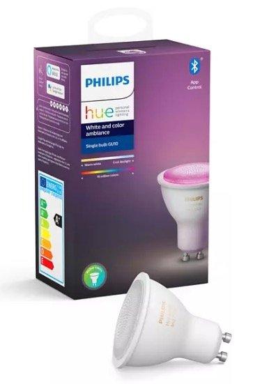 Philips Hue White & Color Ambiance GU10 für 35€ (statt 47€) - Abholung!