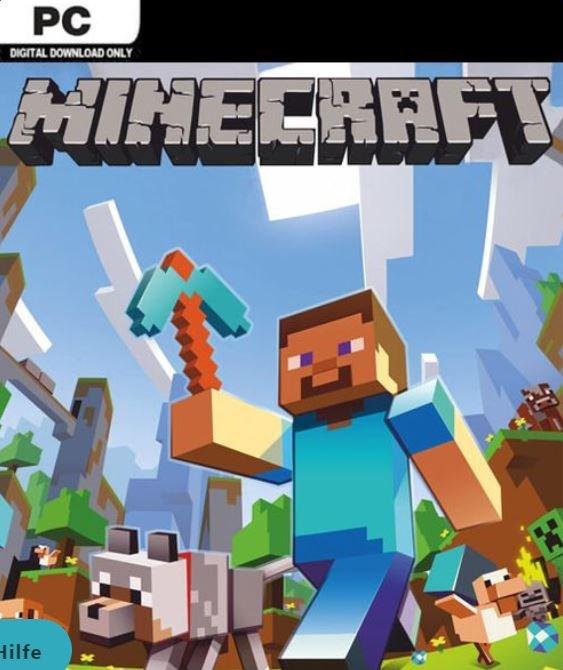 Minecraft Download für Windows (Java Edition) für 15,09€ (statt 18€)