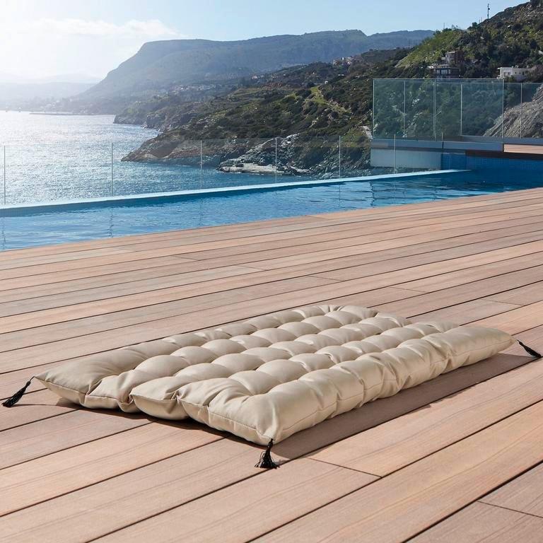 2x Gartensitzkissen Lea in Beige ca. 60x100cm für 25,95€ inkl. Versand (statt 50€)