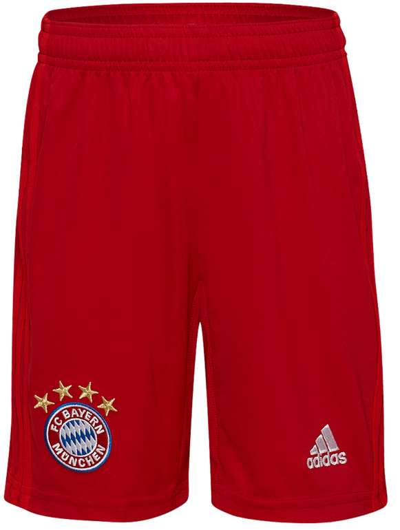adidas FC Bayern Kinder Heim Fußball Shorts & Weitere für 19,94€inkl. Versand (statt 25€)