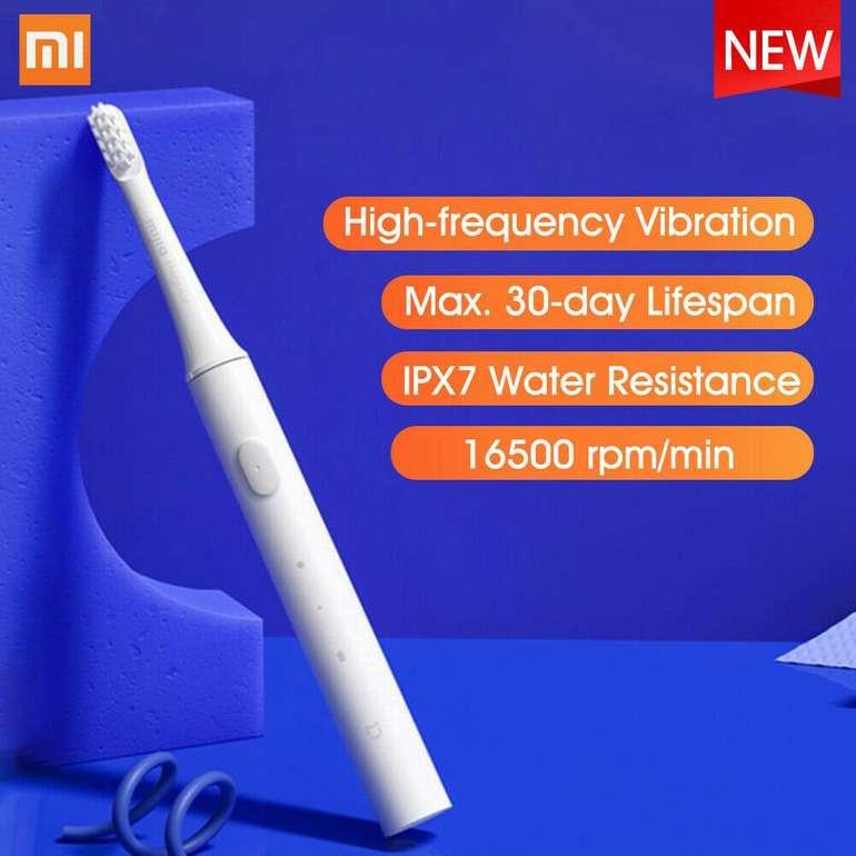 Xiaomi Mijia T100 elektrische Schallzahnbürste für 10,59€ inkl. VSK