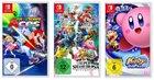 Amazon Spanien 3für2 - z.B. Mario Tennis +  Smash Bros. + Kirby Star All 94,68€
