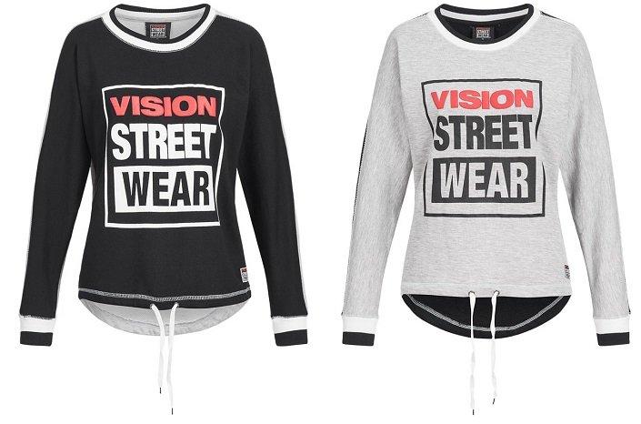 Vision Street Wear Damen Crew Neck Sweatshirt CL2713 für 11,94€ inkl. VSK