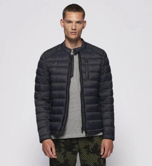 """Superdry Padded Jacket """"Commuter Quilted"""" in schwarz für 44,95€ inkl. Versand (statt 59€)"""