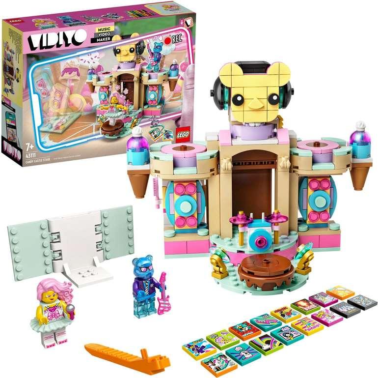 Lego Vidiyo - Candy Castle Stage (43111) für 13,98€ inkl. Versand (statt 18€)