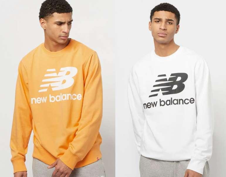 """New Balance NB Essentials """"Stacked Logo Crew"""" Herren Sweatshirt für 24,99€inkl. Versand (statt 35€)"""