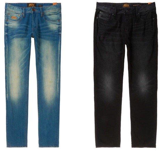 Superdry Herren Jeans und weitere Hosen für je 35,95€ inkl. Versand