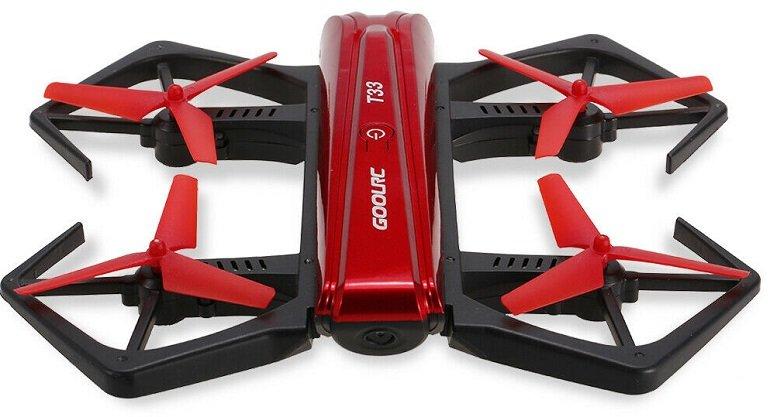 GoolRC T33 WIFI FPV 6-Achsen 4CH Mini RC Drohne mit 720P Kamera für 29,99€