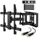Perlegear TV Wandhalterung neigbar, schwenkbar, drehbar für 27,99€ inkl. Versand