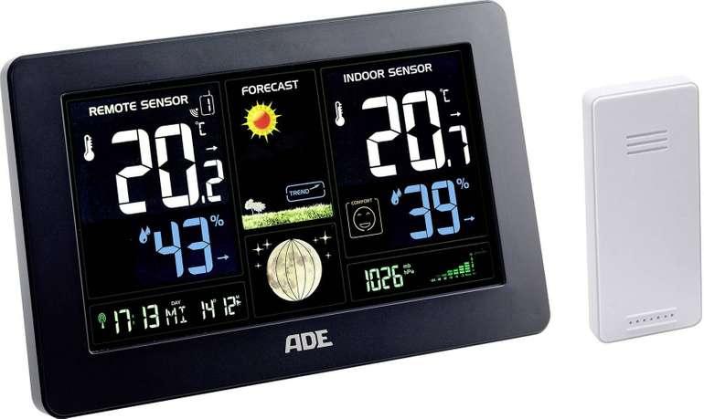ADE WS 1704 Funk-Wetterstation für 29,99€ inkl. Versand (statt 44€)