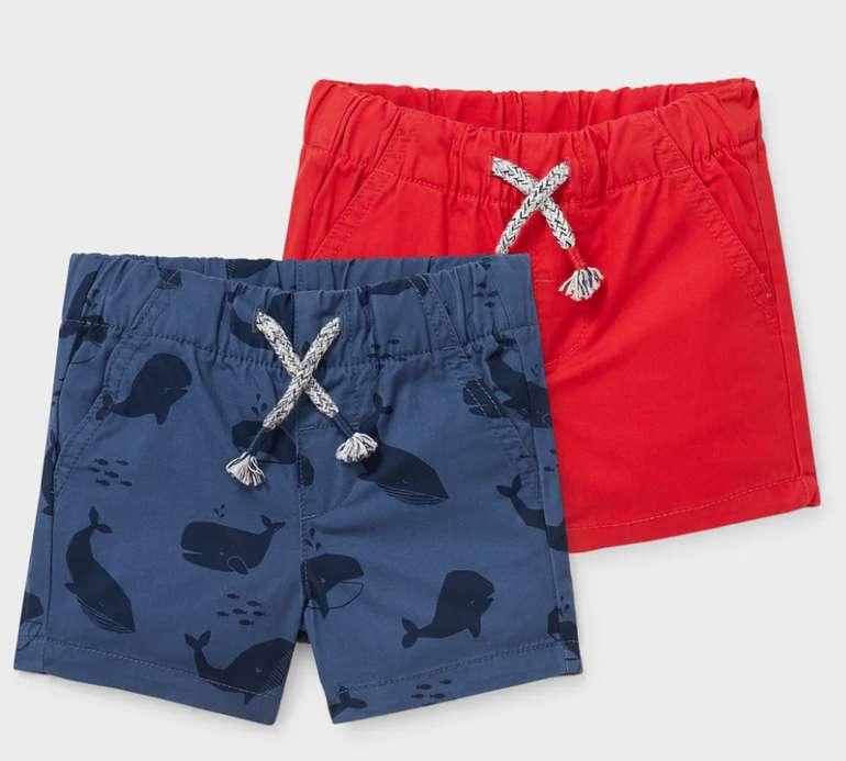 C&A Baby-Shorts aus Bio-Baumwolle (2er Pack) für 9,99€inkl. Versand (statt 18€)