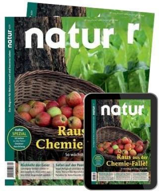 Natur E-Kombi Abo mit 13 Print + E-Paper Ausgaben für 93,08€ + 80€ BestChoice-Gutschein