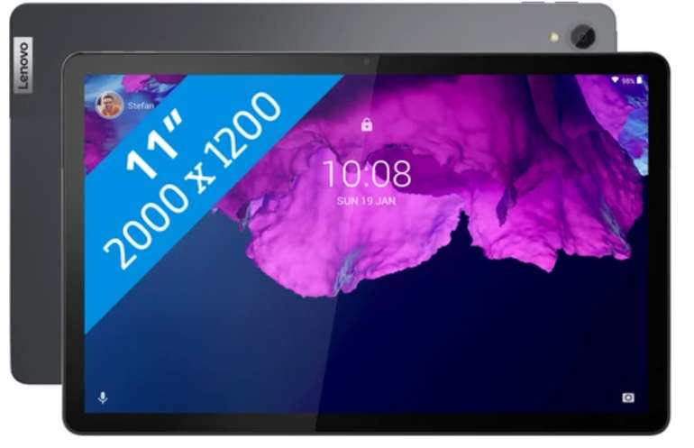 Lenovo Tab P11 in Grau mit 128GB (WLAN) für 229€ inkl. Versand (statt 247€)