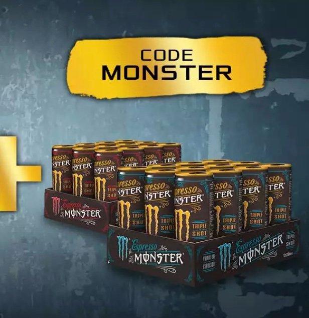 ASUS Onlineshop Monster Espresso Aktion: 24 Dosen Monster Espresso gratis zur Bestellung (MBW: 19€)