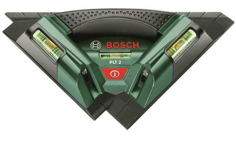 """Bosch Fliesenlaser Kreuzlinienlaser """"PLT 2"""" für 65€ (statt 74,90€)"""