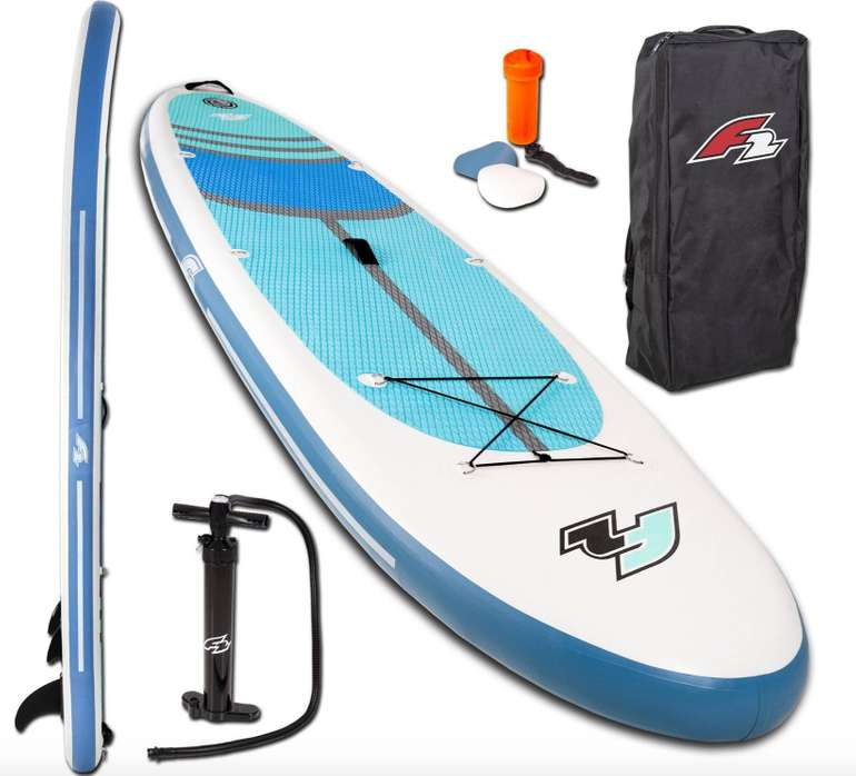 Stand Up Paddle: F2 Inflatable SUP-Board Cross für 226,94€ inkl. Versand (statt 290€)