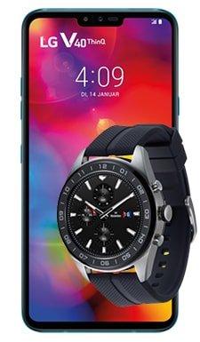 LG V40 ThinQ + LG W7 Watch (+69,95€) inkl. Otelo Vodafone Allnet-Flat mit 10GB LTE für 19,99€ mtl.