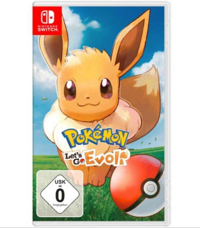 Pokémon: Let's Go, Evoli (Nintendo Switch) für 28,52€ inkl. Prime Versand (statt 39€)