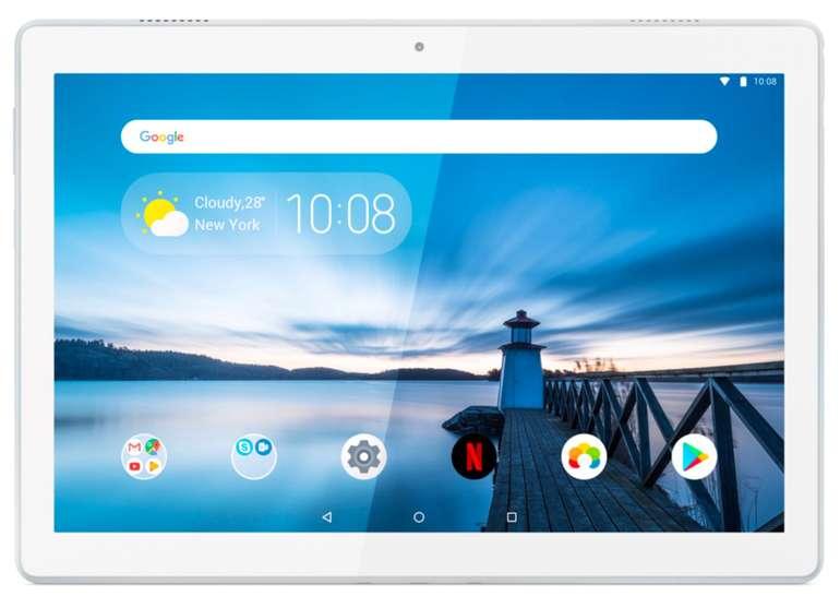 """Lenovo Tab M10 - 10,1"""" FHD Tablet (Snapdragon 450 Octa-Core, 2GB RAM, 16GB Speicher) für 107,10€"""