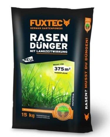 Fuxtec 15 Kg Rasendünger mit Langzeitwirkung (bis zu 375m²) für 17,91€ inkl. Versand (statt 30€)