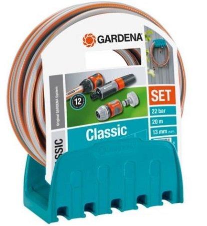 Schnell? Gardena 18005-50 Wandschlauchhalter + 20m Schlauch für nur 14,94€ (statt 25€)