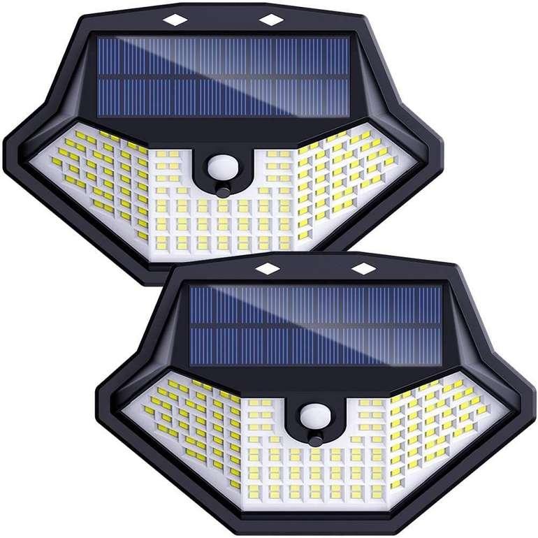 2 Deruc Solarlampen bei Amazon reduziert, z.B. Wandleuchte für 16,99€ inkl. Prime Versand