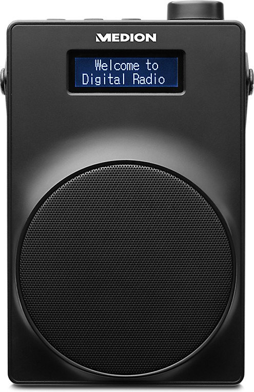 "Medion Life E66880 DAB+ Radio (1,8"" Display, Akku, Teleskopantenne) für 22,95€ (statt 33€)"