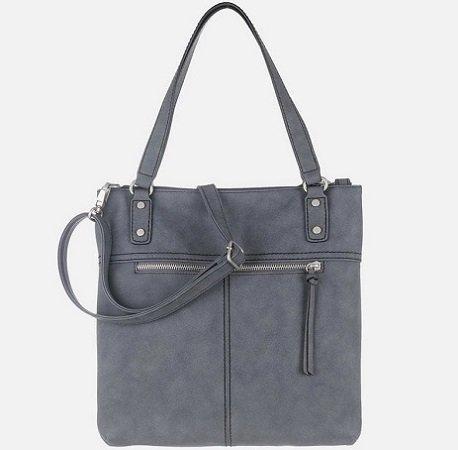 s.Oliver RED LABEL Damen Handtasche in taubenblau für nur 22,49€ inkl. VSK