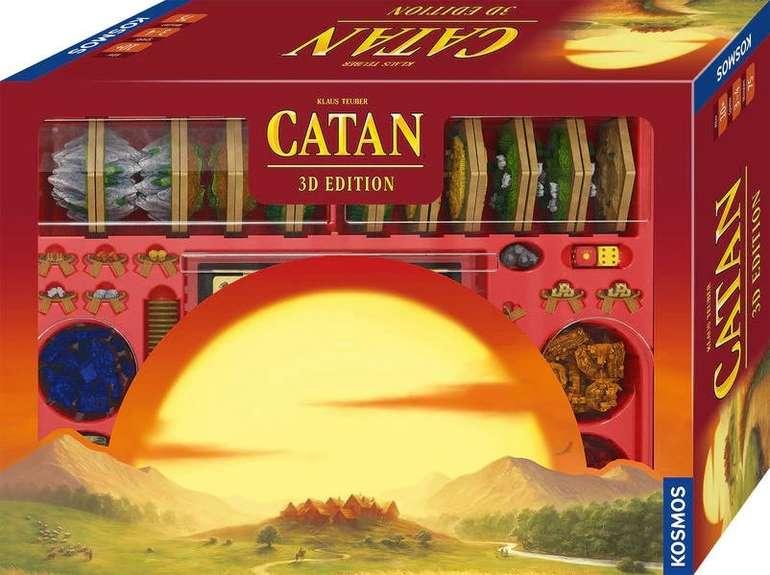 """Kosmos Brettspiel """"Siedler von Catan"""" 3D Edition für 235,44€ inkl. Versand (statt 269€) - Vorbestellung!"""
