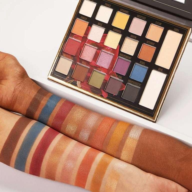 Bis -60% Rabatt auf Influencer Produkte + VSKfrei ab 10€ - z.B. Sylvia Gani 22 Farben Shadow Palette für 10,40€