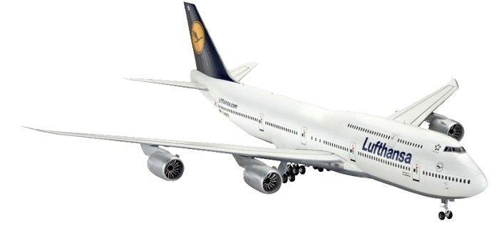 Revell Boeing 747-8 Lufthansa (04275) Bausatz für 13,99€ inkl. VSK