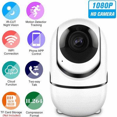 NoName 1080P WiFi Kamera mit Nachtsicht für 17,99€ inkl. Versand