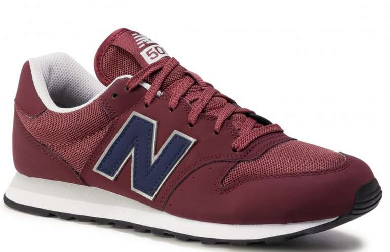 New Balance GM500VE1 Herren Sneaker in Dunkelrot für 47€ inkl. Versand (statt 75€)