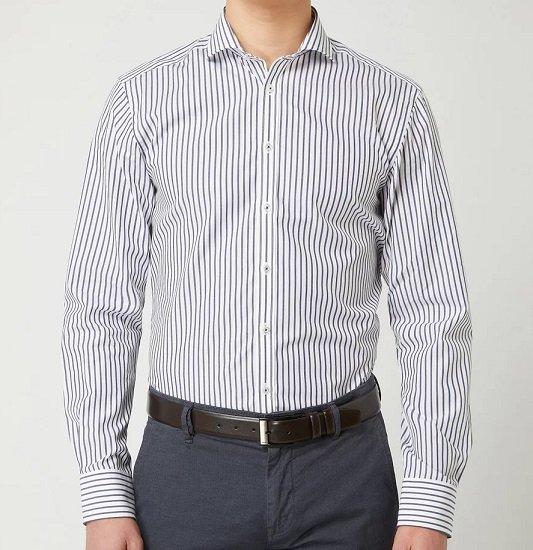 Bruun & Stengade Ted Slim Fit Business-Hemd aus Baumwolle für 27,99€ (statt 40€)