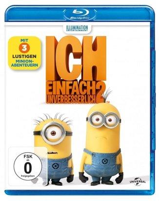 Ich - Einfach unverbesserlich 2, 1 Blu-ray für 3,66€ inkl. Versand (statt 10,50€)