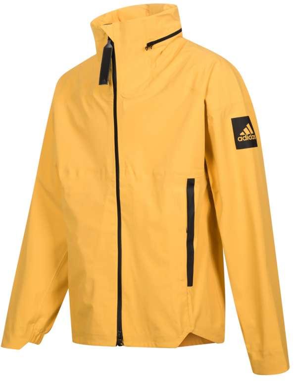 adidas Myshelter Herren Outdoor Regenjacke in gelb für 74,99€inkl. Versand (statt 100€)