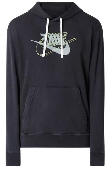 Nike Hoodie mit Logo in Grau oder Dunkelblau für 33,99€ inkl. Versand (statt 60€)
