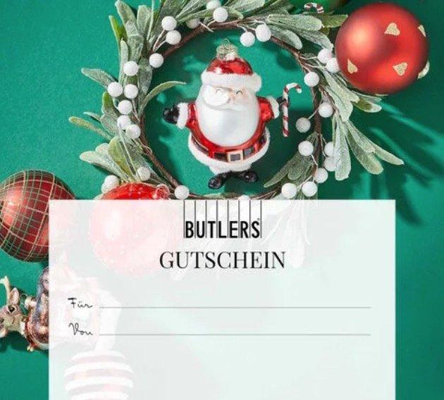 50€ Butlers Gutschein kaufen und zusätzlich einen 20€ Gutschein geschenkt bekommen