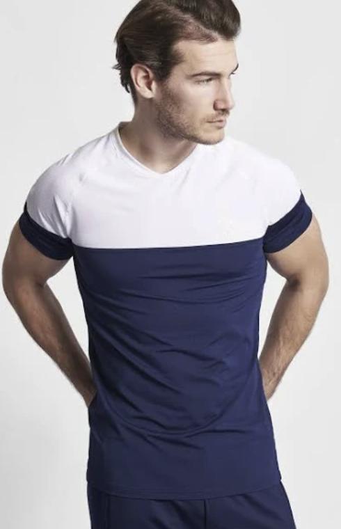 Hummel Alexander T-shirt S/S in blau für 9,98€ inkl. Versand (statt 20€)