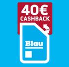 Blau Allnet Flat L/XL (3 oder 5GB LTE, Allnet) für 8,32€ bzw. 13,32€ monatlich