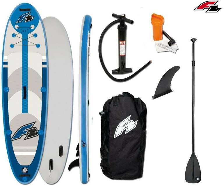 "F2 Strato 10'5"" SUP Board Stand Up Paddle Surf-Board aufblasbar inkl. Paddel für 260,91€ (statt 299€)"