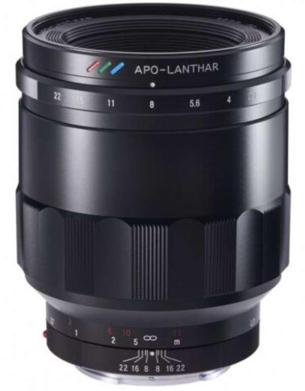Voigtländer 65mm F2 Macro Apo-Lanthar Objektiv für Sony E-Mount nur 834,99€ inkl. Versand (statt 973€)