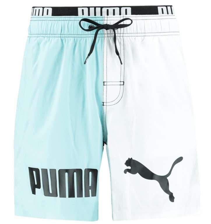 Puma Badehose Color Block Mid Shorts (versch. Farben) für je 27,96€ inkl. Versand (statt 34€)